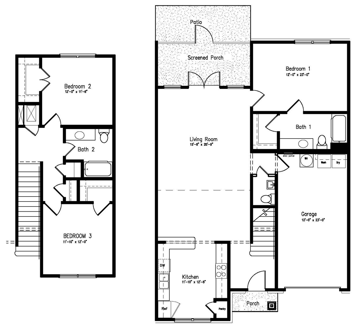 Two Three Bedroom Apartments For Rent The Palladian At